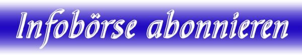 infoboerse abonnieren blau