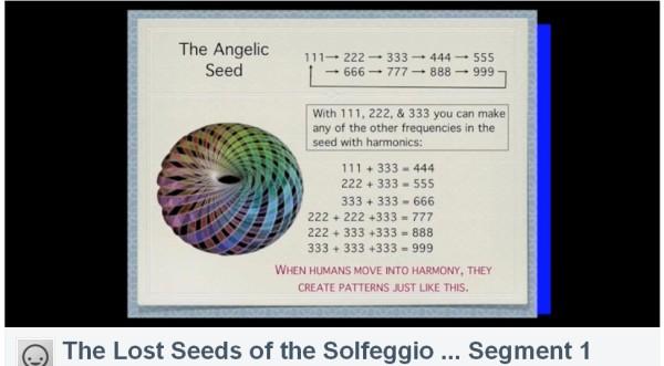 lost seeds o solfeggio