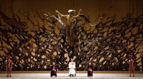Audienzhalle des Vatikan