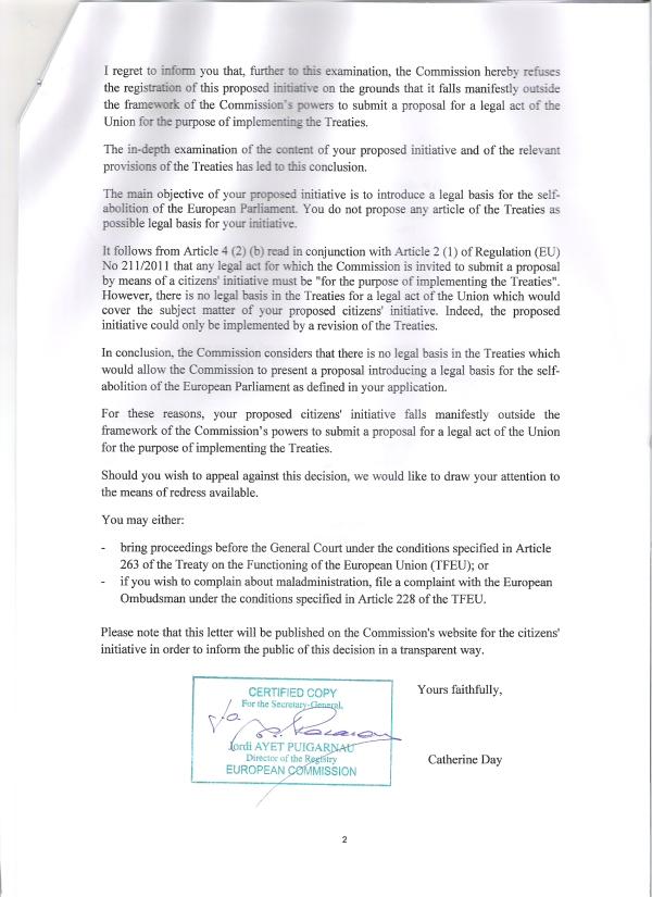 Entscheidung Europäische Kommission, Seite 3
