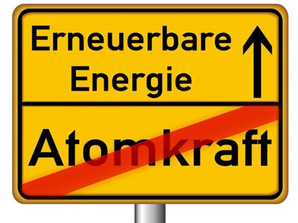 erneuerbare energie statt atomenergie