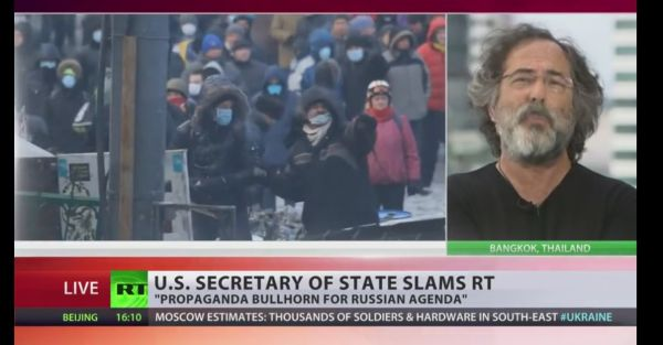 U.S,Secretary of state slams RT