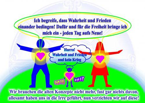 AN die Welt zum heutigen Tag: Frieden und die Rune Elhaz ...