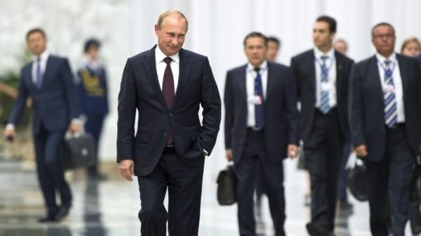 Russian President Vladimir Putin visits Minsk