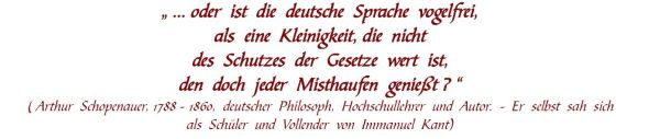 deutsche sprache