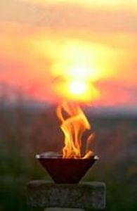 Agnihotra-Flamme-k