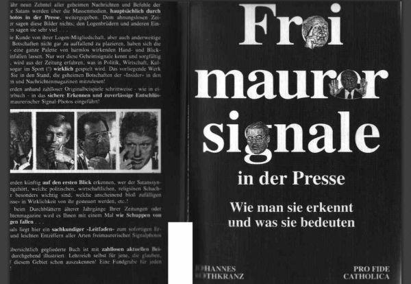 Freimaurer Signale in der Presse