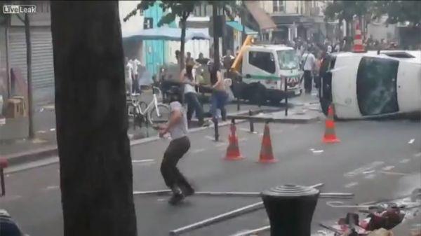 Islam - Moslem-Aufstand in Paris-2