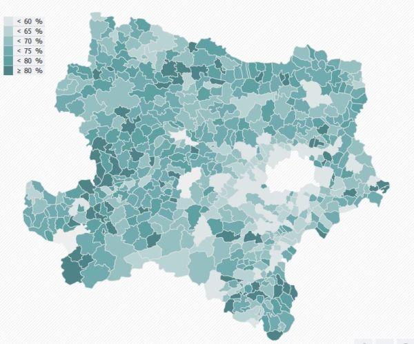 NOE-Gemeinderatswahl-Wahlbeteiligung