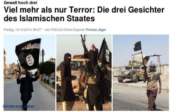 die 3 gesichter des islamischen staats - IS