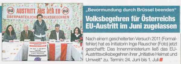 EU-Austritt