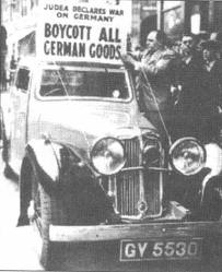 boycott all german goods - 1933
