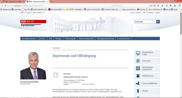Firma Bundesministerium für Finanzen