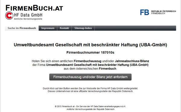 Umweltbundesamt - GmbH