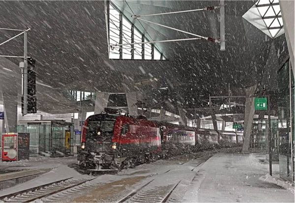 Wien-Südbahnhof-im-Schnee