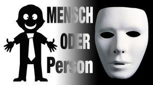 mensch oder person