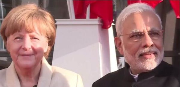 Merkel und Modi