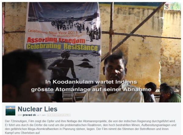 Nuclear lies