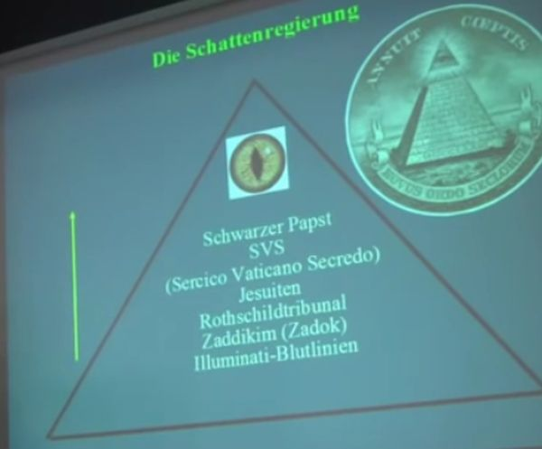 die Geheimgesellschaften Pyramide-3
