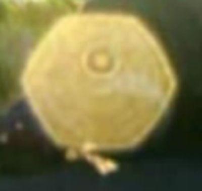 orb-farbe-gelb-form-sechseck-aus-film