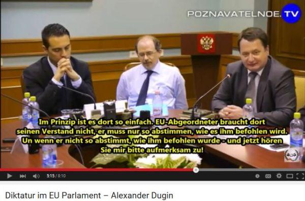 Abstimmung im EU-Parlament aufgrund vorgefertigter Stimmlisten-1