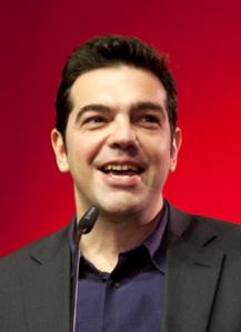 Alexis Tsipras, Chef von Syriza. Foto: Wikipedia
