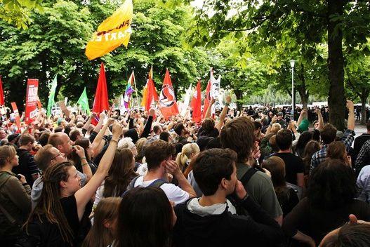 Antifa-Demo-alle-gekauft