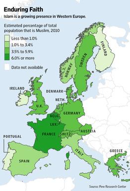 islamisierung europa