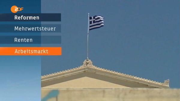 Reformen fuer 3. den Ausverkauf von griechenland