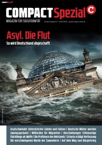 "COMPACT-Spezial Nr. 7 ""Asyl.Die Flut"" wird ab 10.9. versandt. Bestellung shop.compact-online.de"