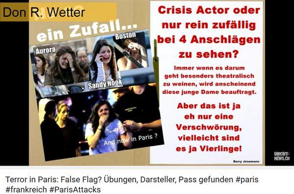 Paris-Flase-Flag-gleiche Schauspieler wie in Boston