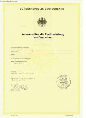 staatsangehoerigkeitsausweisdeutschland