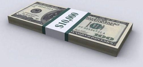 10 000 Dollar