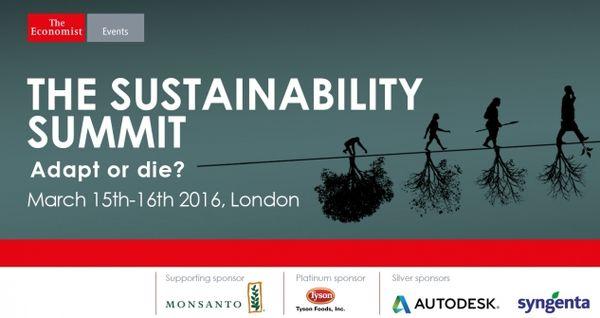 3-The Sustainability Summit - The Economist