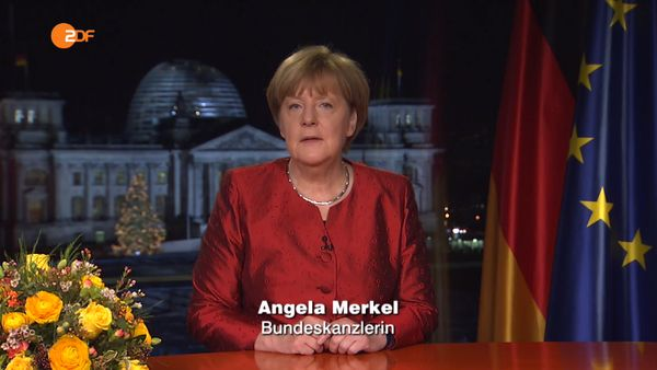 Merkels Neujahrsansprache 2016