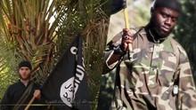 Zwei IS-Kämpfer [Quelle: IS-Propagandavideo, Montage Radio Bremen]