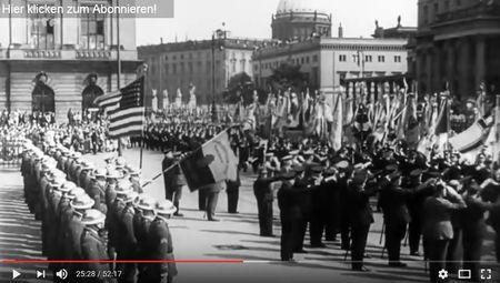 schon 1937 wehte die amerikanische Fahne in Deutschland-k