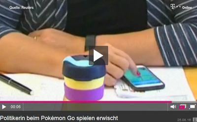 Politikerin beim Pokemon Go erwischt